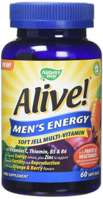 Nature's Way Alive! Men's Energy Soft Jell Multivitamin - 60 Chewables