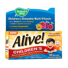 Nature's Way Alive! Childrens Chewable OAD - 30 Tablets