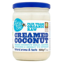 Lucy Bee Organic Creamed Coconut - 500g