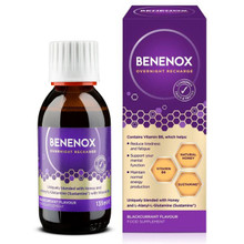Benenox Overnight Recharge Food Supplement Blackcurrant - 135ml