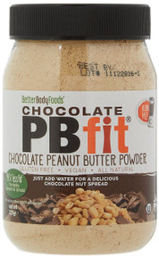 BetterBody PBfit Powdered Chocolate Peanut Butter Powder - 225g