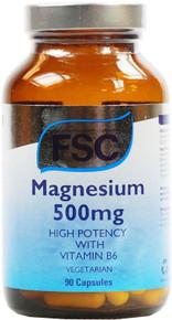 FSC Minerals Magnesium 500mg - 90 Capsules