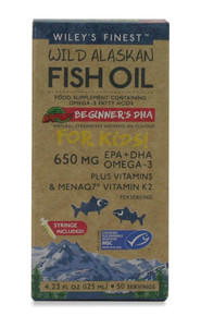 Wiley's Finest Beginner's DHA 650mg EPA & DHA - 125ml