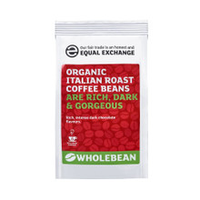 Equal Exchange Org FT Italian Coffee Beans - 227g
