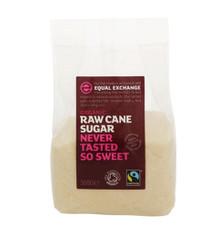 Equal Exchange Raw Cane Sugar Organic & Fairtrade - 500g