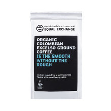 Equal Exchange Fairtrade & Organic Colombian Excelso Roast & Ground Coffee - 227g