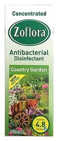 Zoflora Anitbacterial Disinfectant Country Garden - 120ml
