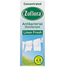 Zoflora Concentrated Disinfectant Linen Fresh - 120ml