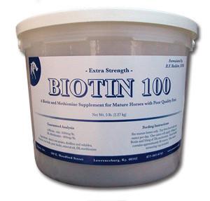 Extra Strength Biotin 100