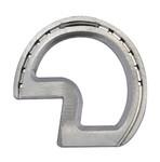 Rounded Z bar aluminium horse shoe