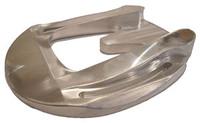 Aluminum rail bar shoe