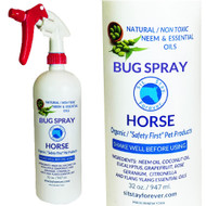 Organic  Neem  & Essential Oil Bug Spray for Horse