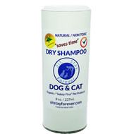Organic Dry Shampoo for Dogs and Cats  --  8 oz.
