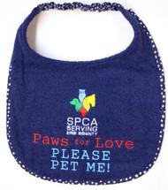 SPCA Paw For Love Bib