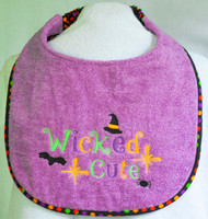 Wicked Cute Dog Drool Bib Special Order