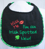 Kiss Me I'm an Irish Spotted Newf Special Order