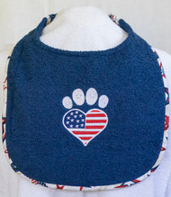Patriotic Heart Paw Special Order