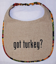 Got Turkey? Dog Drool Bib