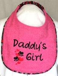 Daddy's Girl Drool Bib