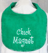 Chick Magnet Dog Drool Bib