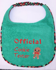 Special Order Official Cookie Tester Dog Drool Bib
