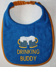 Drinking Buddy Drool Bib