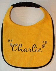 Personalized Dog Drool Bib With Options