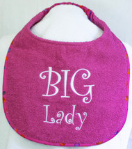 Big Lady Dog Drool Bib Special Order