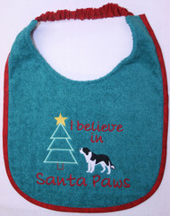 Saint Bernard I believe in Santa Paws