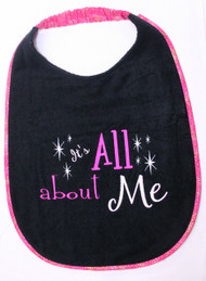 All About Me Girl Colors Super Sized Bib In Stock