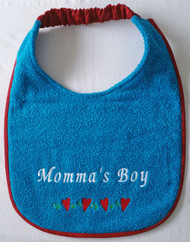Momma's Boy With Heart Border Special Order