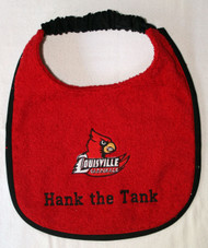 Louisville Cardinals Name Drool Bib