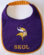 Minnesota Vikings Drool Bib