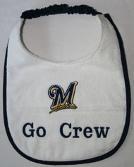 Milwaukee Brewers Drool Bibs