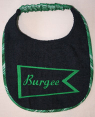 Custom design for personalized drool bib
