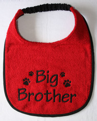 Big Brother Announcement Special Order Dog Drool Bib