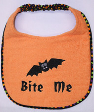 Bite Me Dog Drool Bib