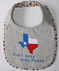 Texas Map Bib