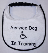 Puppy Service dog bib