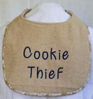 Cookie Thief Dog Drool Bib