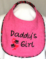 Daddy's Girl Drool Bib Special Order