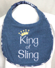 King of Sling Drool Bib Special Order