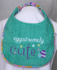 Eggstremely Cute Dog Drool Bib Special Order