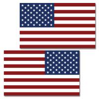USA RWB Flag Clean