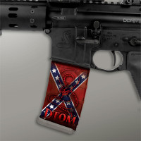 Confederate Flag w/ Red DTOM