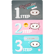 HOLIKA HOLIKA Pig Nose Clear Black Head 3 Step Kit