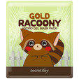 SECRET KEY Gold Racoony Hydrogel Mask