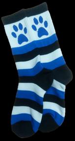 Stripe Paw Sock
