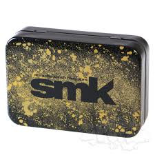 "SMK Gold Design Metal Stash Tin - 3.75"" x 2.5"""