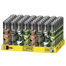 Clipper Lighter - Camo Design